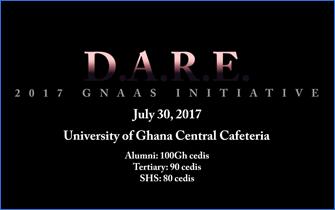 D.A.R.E – GNAAS  Initiative