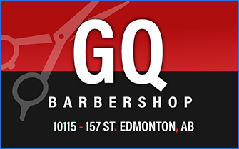 GQ Barbershop Business Cards
