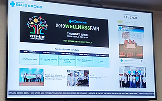 Digital Info Displays