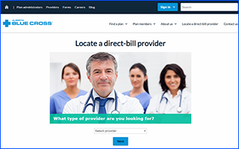 Direct Bill Provider Directory