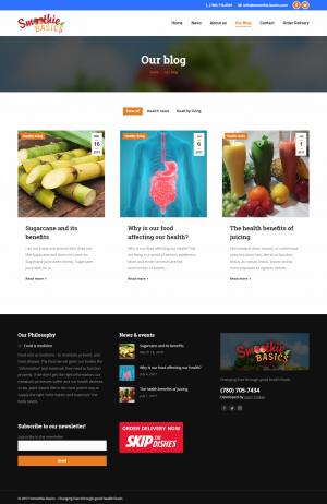 Blog - Desktop