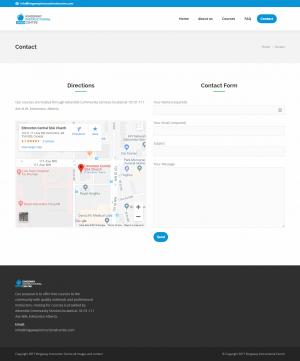Contact - Desktop