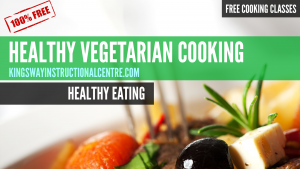 Healthy Cooking Course Promo