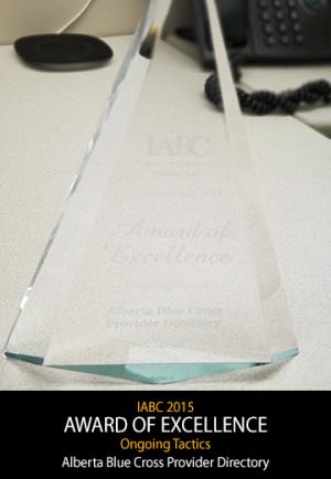 2015 IABC Award Winner