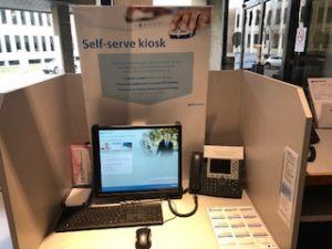 Kiosk - Customer Service Area 1