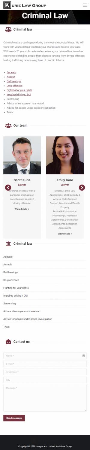 Criminal - Mobile