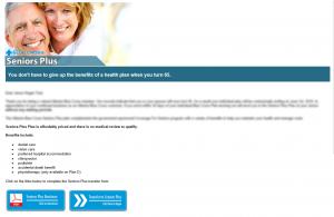 Seniors Plus Conversion - Email