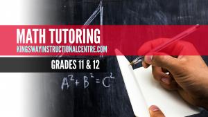 Math Tutoring Course Promo